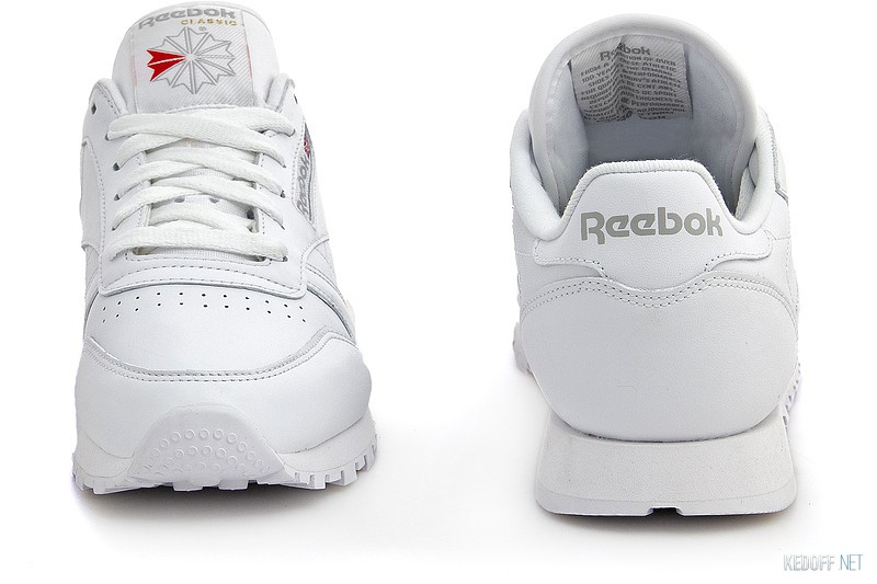 Sneakers Reebok Classic Leather 2232 unisex (white) описание