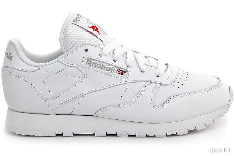 Цены на Sneakers Reebok Classic Leather 2232 unisex (white)