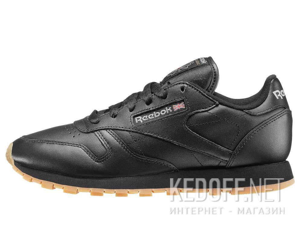 Кроссовки Reebok Classic Leather - Black 49804 купить Украина