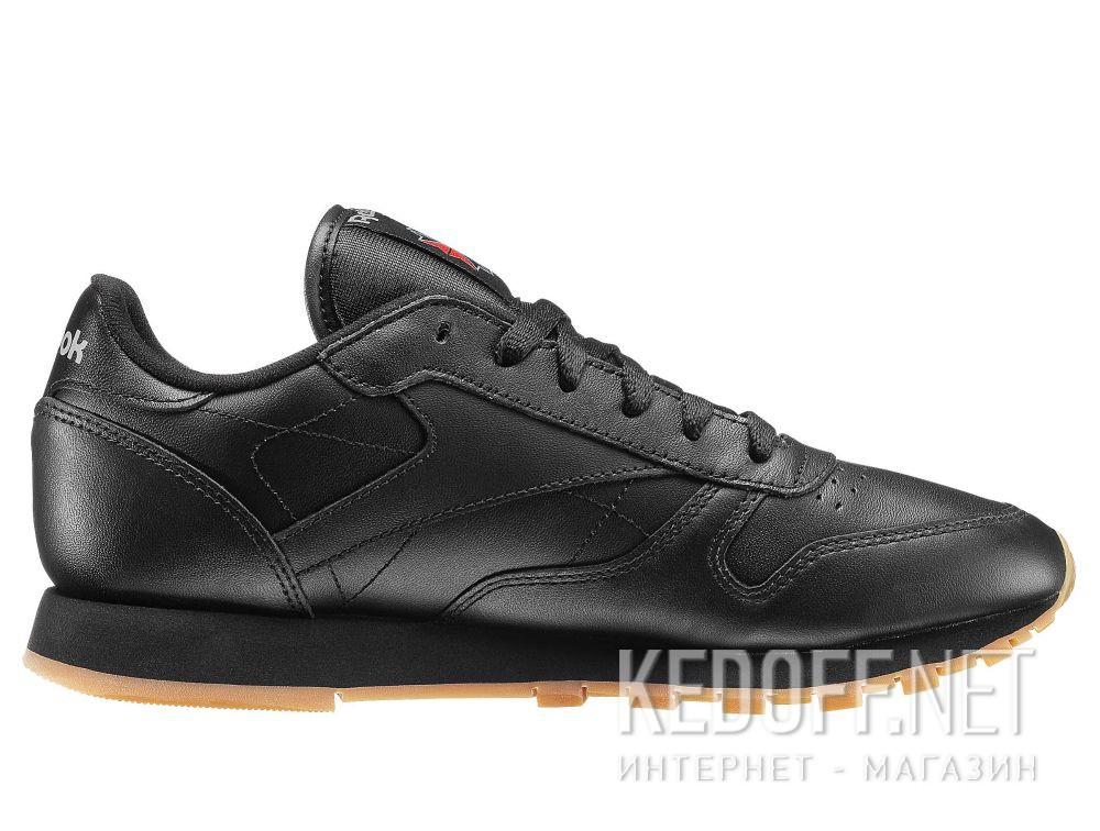 Shop Sneakers Reebok Classic Leather - Black 49804 at Kedoff.net - 21585 871bca40a12c7
