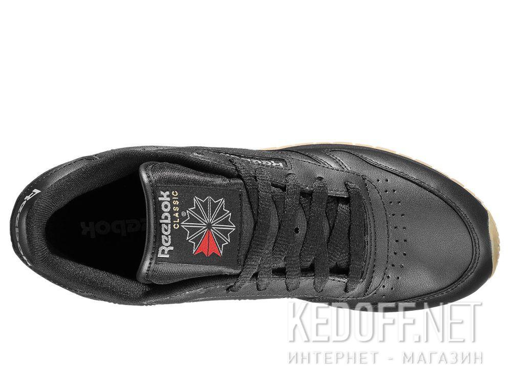 Оригинальные Кроссовки Reebok Classic Leather - Black 49804