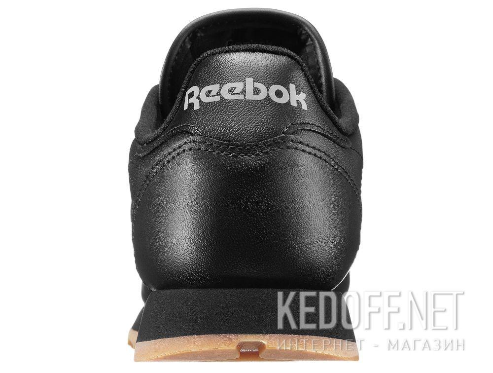 Кроссовки Reebok Classic Leather - Black 49804 описание
