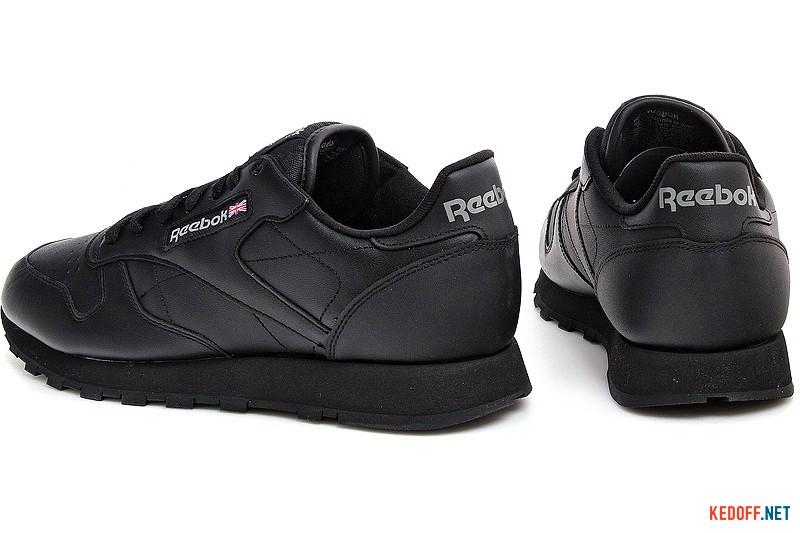 Мужские кроссовки Reebok Classic Leather 2267   (чёрный) купить Украина