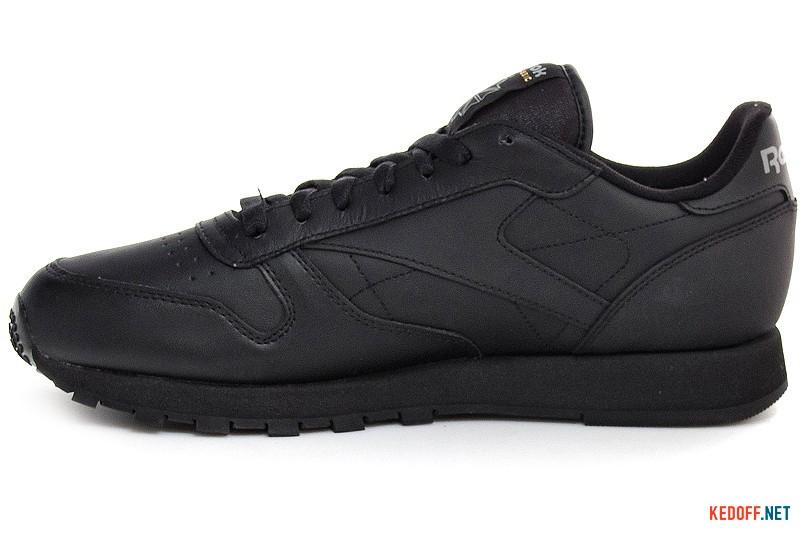 Мужские кроссовки Reebok Classic Leather 2267   (чёрный) купить Киев