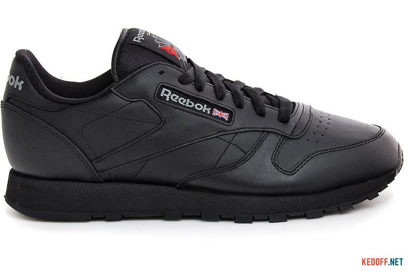 Оригинальные Мужские кроссовки Reebok Classic Leather 2267   (чёрный)