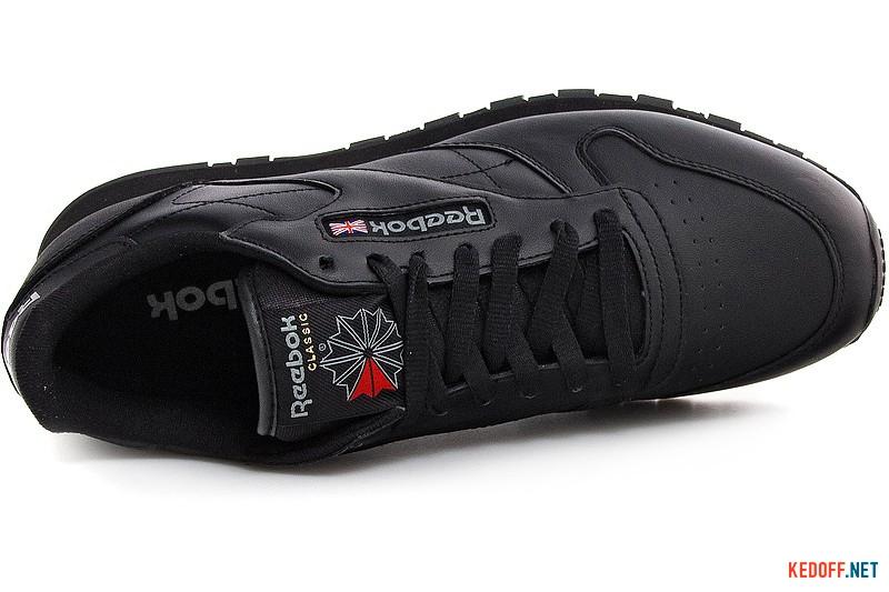 Цены на Мужские кроссовки Reebok Classic Leather 2267   (чёрный)