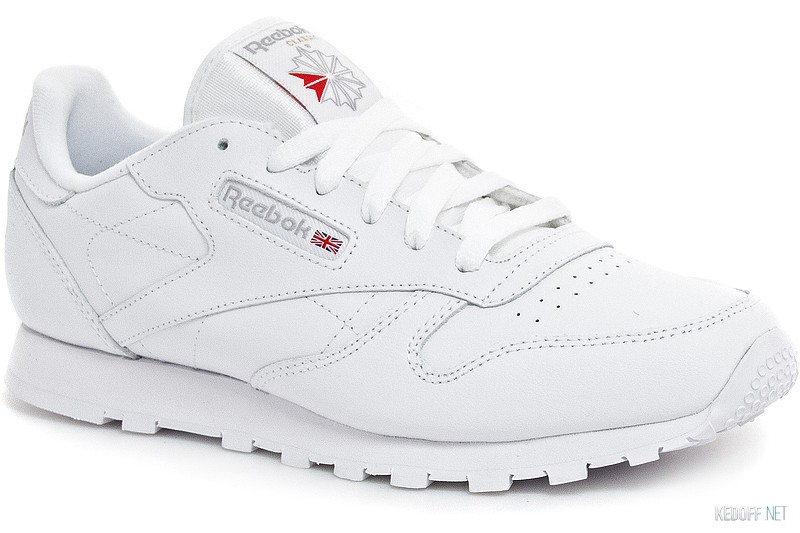 8231c72b28538d Кросівки Reebok Classic Leather 50151 унісекс (Білий) в магазині ...