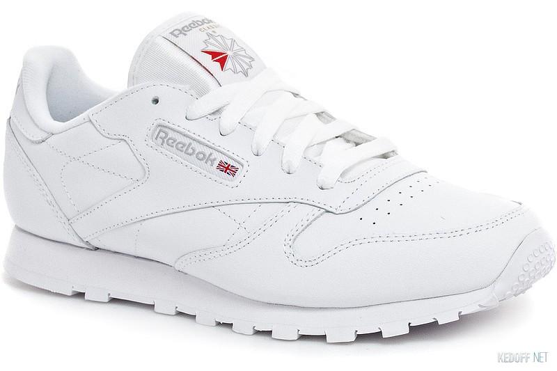 5a8f6baabd72 Кроссовки Reebok Classic Leather 50151 унисекс (белый) в магазине ...