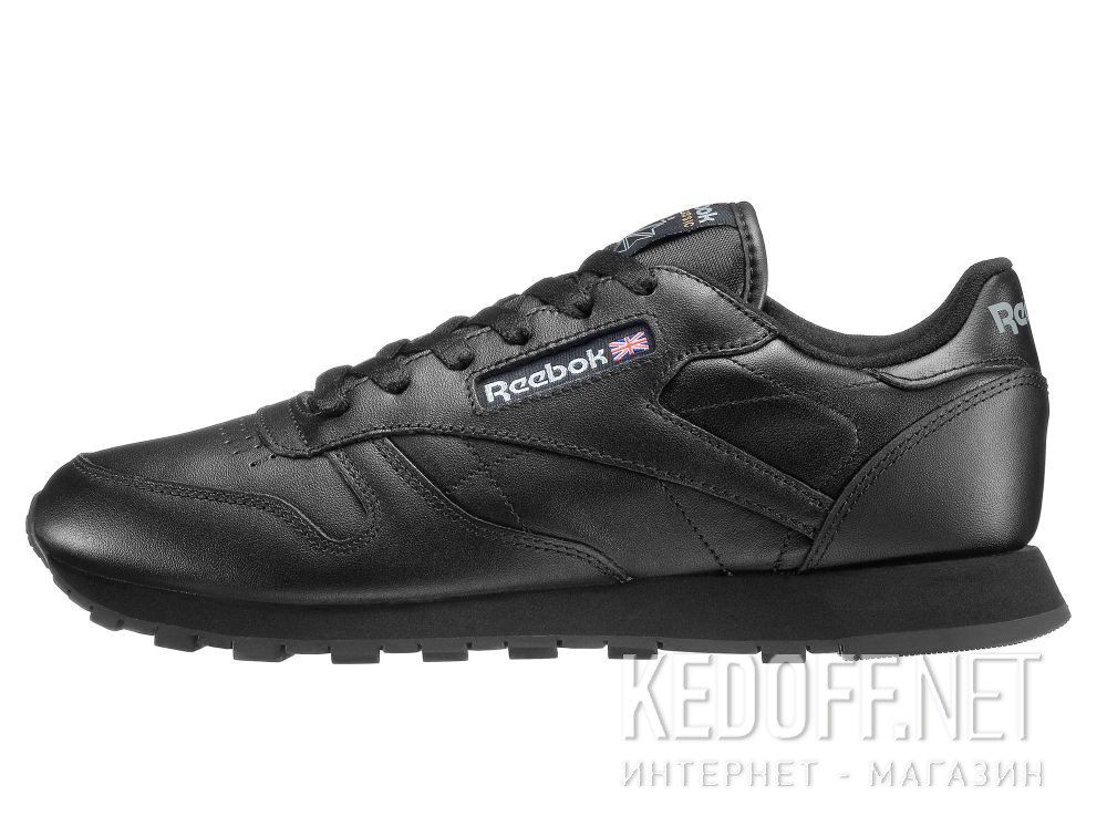 Sneakers Reebok Classic Leather Int-black 3912 купить Киев