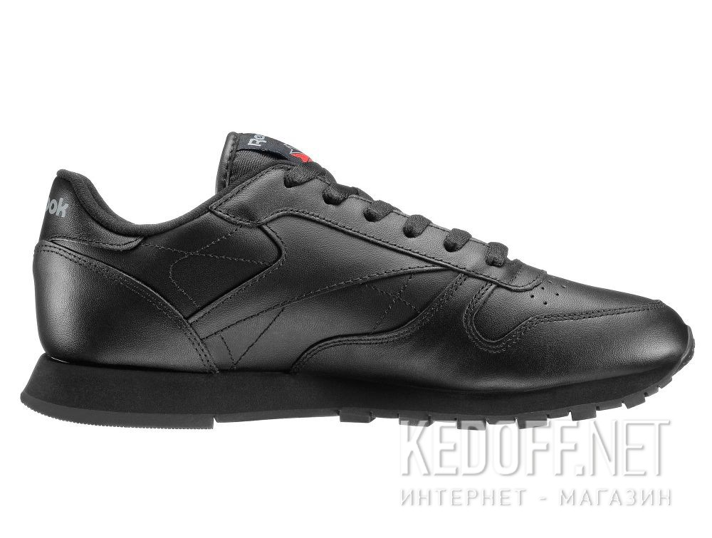Оригинальные Sneakers Reebok Classic Leather Int-black 3912