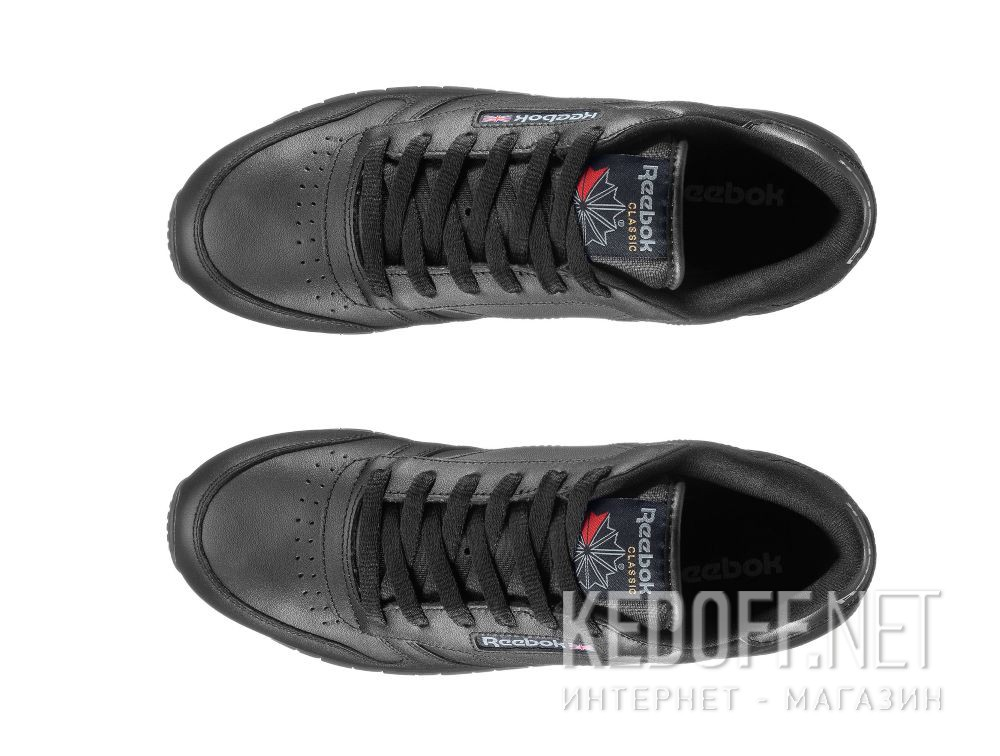 Sneakers Reebok Classic Leather Int-black 3912 все размеры