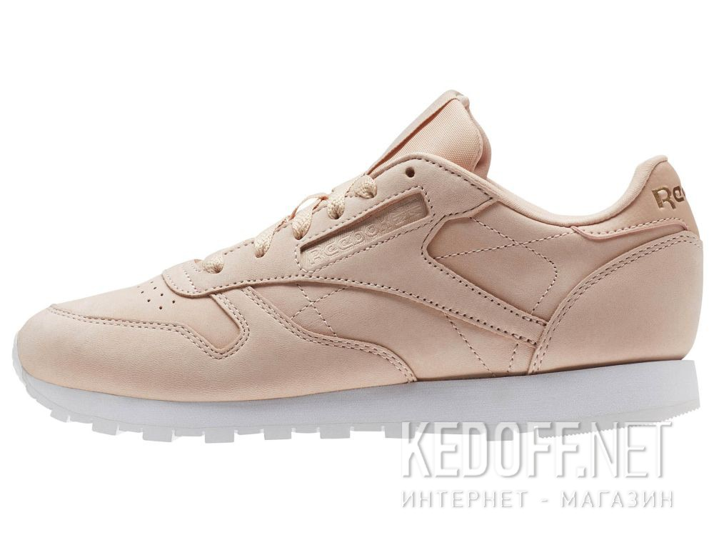 Кроссовки Reebok Classic Leather Nude Nbk \ Rose Cloud/White CN1504 купить Украина