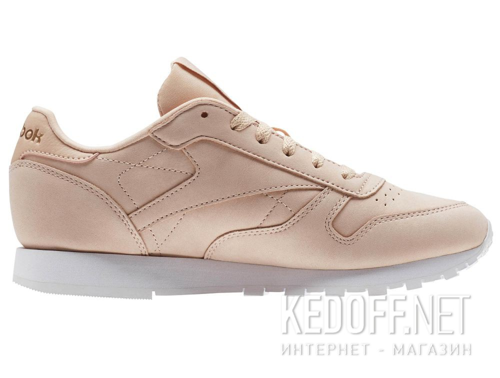 Кроссовки Reebok Classic Leather Nude Nbk \ Rose Cloud/White CN1504 купить Киев