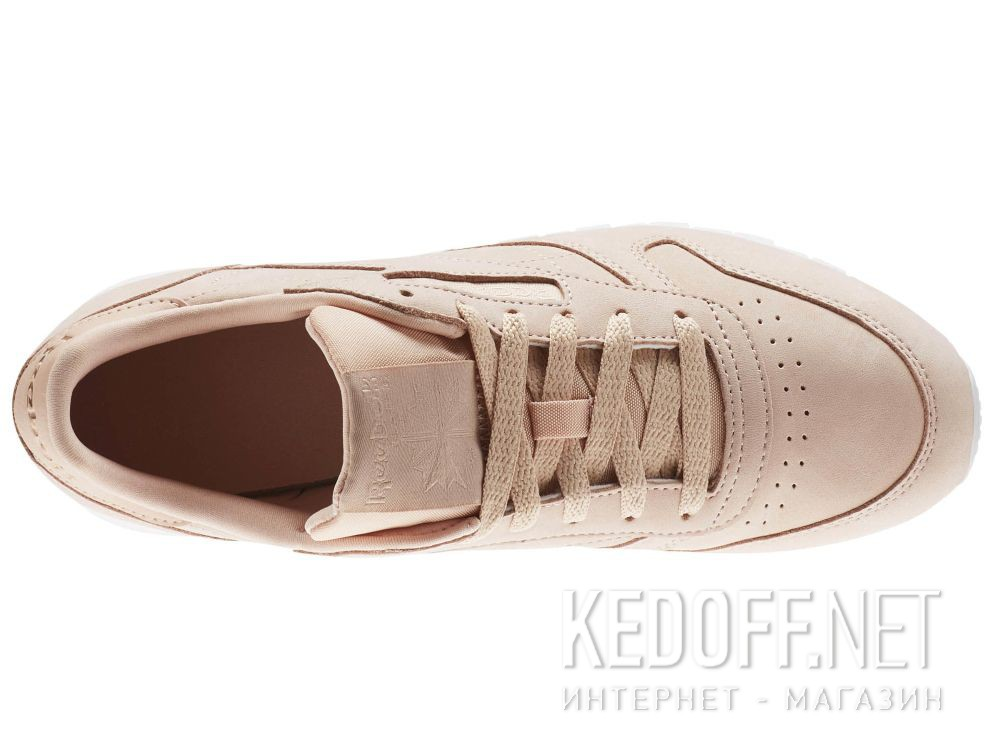 Цены на Кроссовки Reebok Classic Leather Nude Nbk \ Rose Cloud/White CN1504