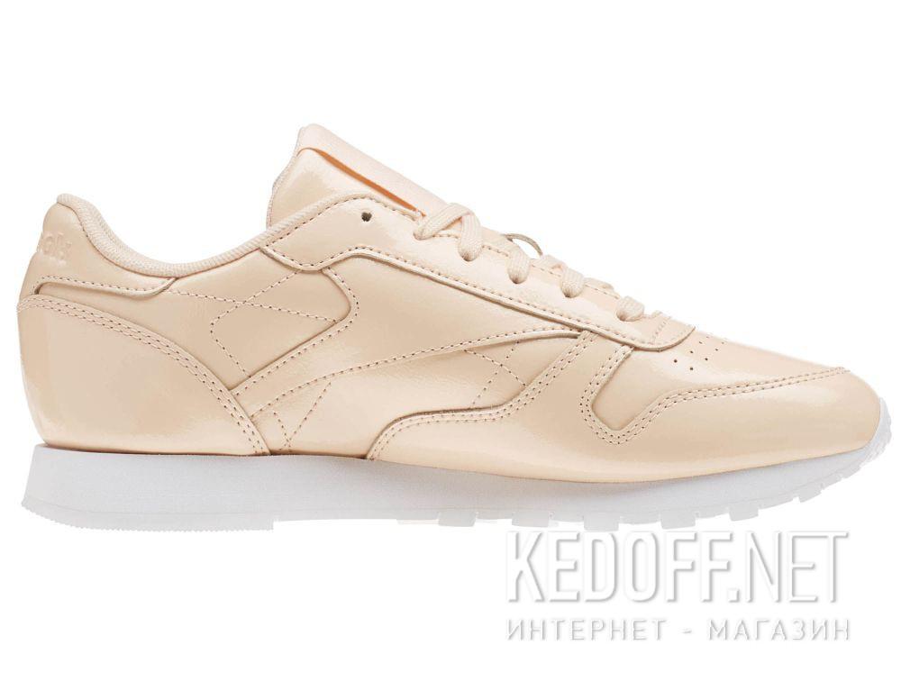 Кроссовки Reebok Classic Leather Patent Desert Dust/White cn0771 купить Украина