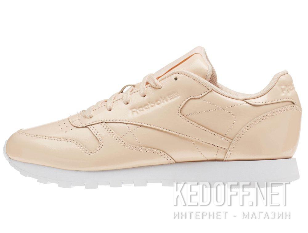 Кроссовки Reebok Classic Leather Patent Desert Dust/White cn0771 купить Киев