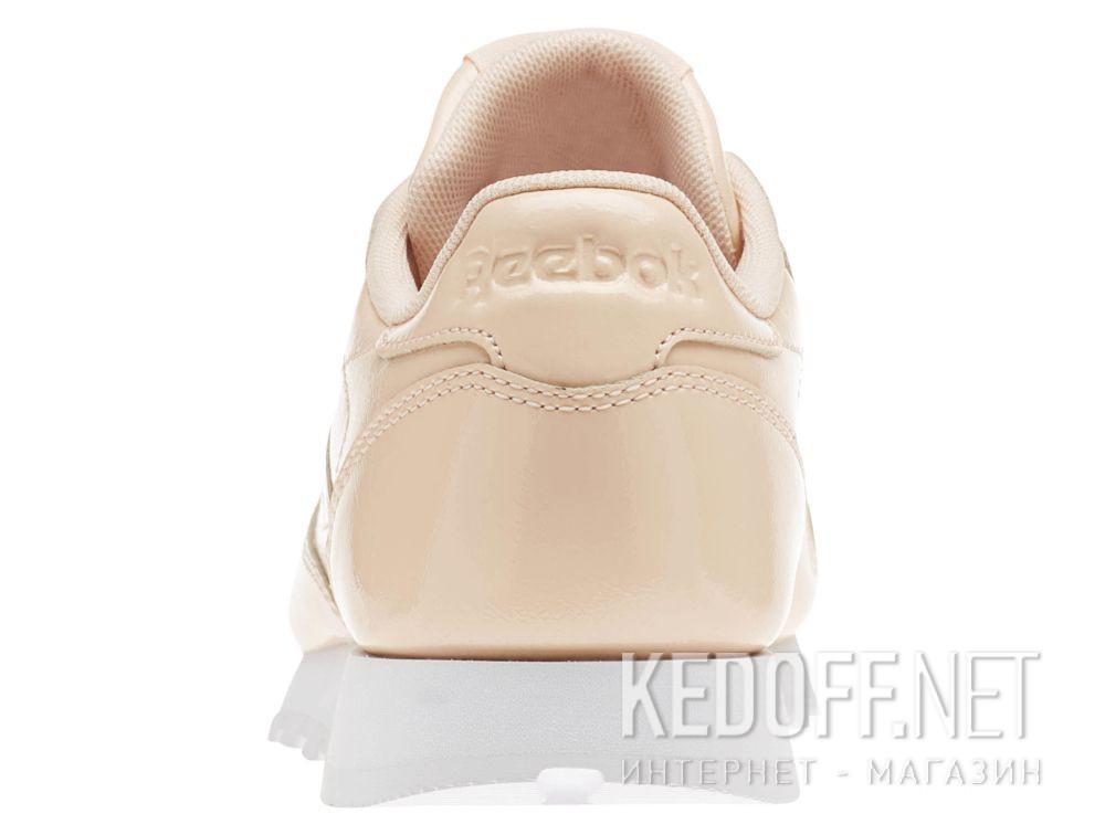 Оригинальные Кроссовки Reebok Classic Leather Patent Desert Dust/White cn0771