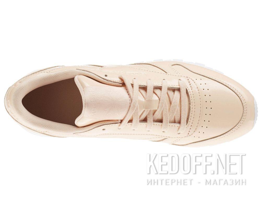 Цены на Кроссовки Reebok Classic Leather Patent Desert Dust/White cn0771