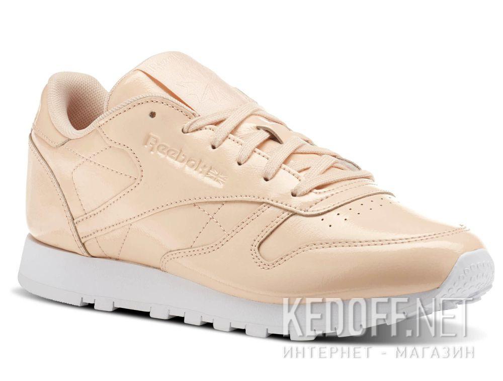 Купить Кроссовки Reebok Classic Leather Patent Desert Dust/White cn0771