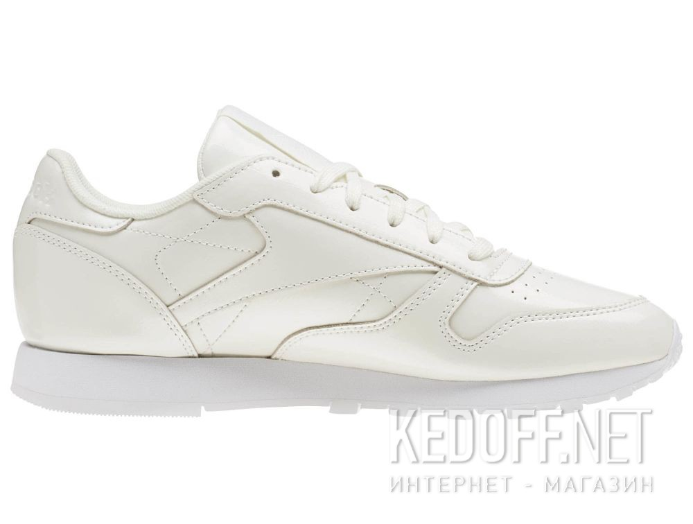 Кроссовки Reebok Classic Leather Patent \ White cn0770 купить Киев