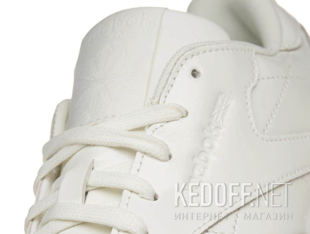 Кроссовки Reebok Classic Leather Patent \ White cn0770 все размеры