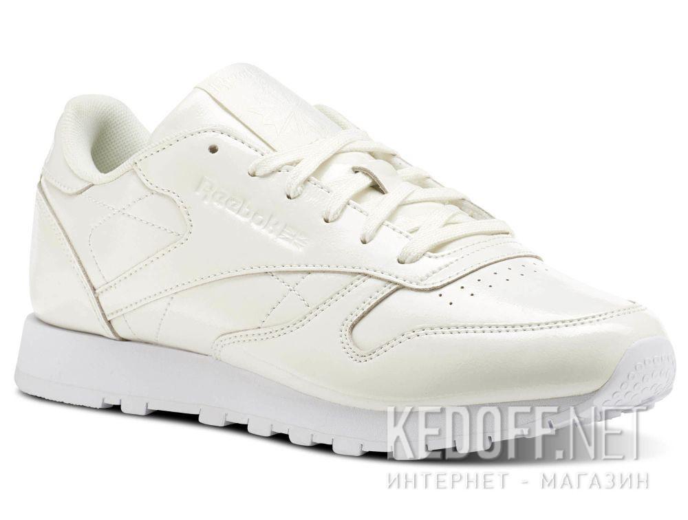 Купить Кроссовки Reebok Classic Leather Patent \ White cn0770
