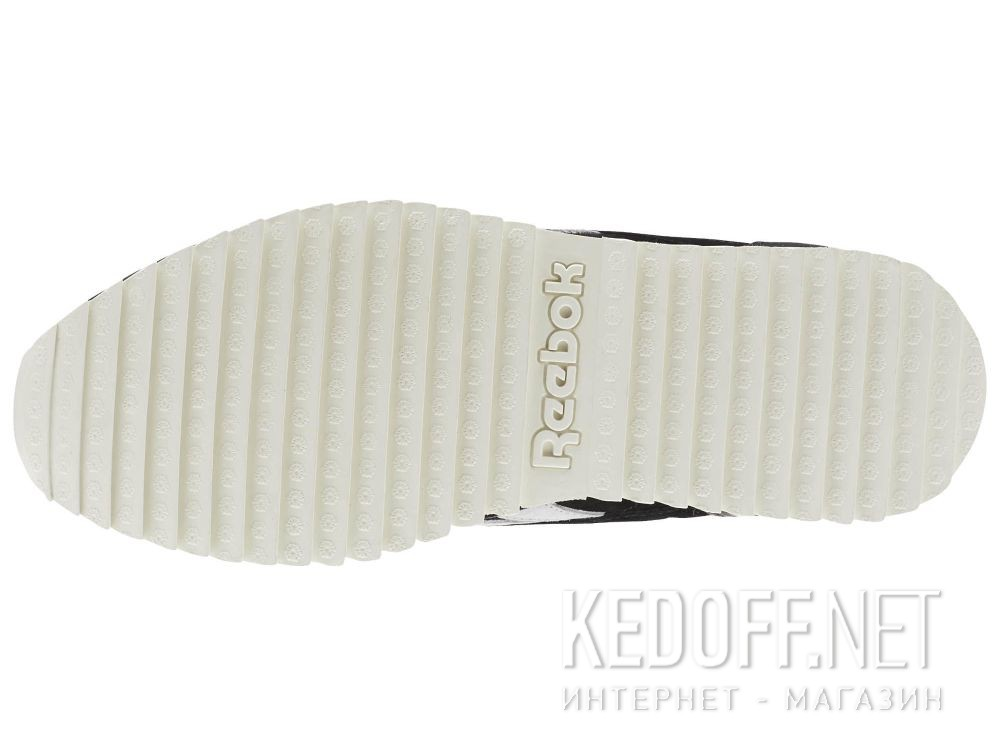 Кроссовки Reebok Classic Leather Ripple Sm \ Black/Cool Shadow/Chalk BS9726 описание
