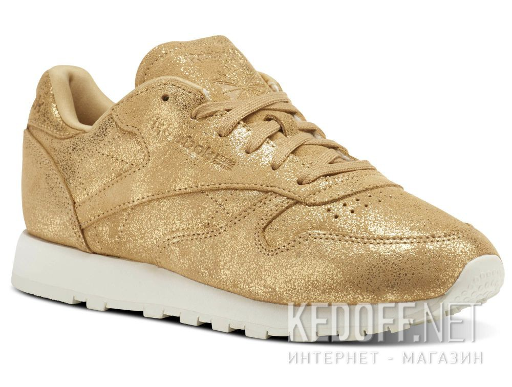 Кросівки Reebok Classic Leather Shimmer Gold CN0574 в магазині ... 249ca39a9ec4d