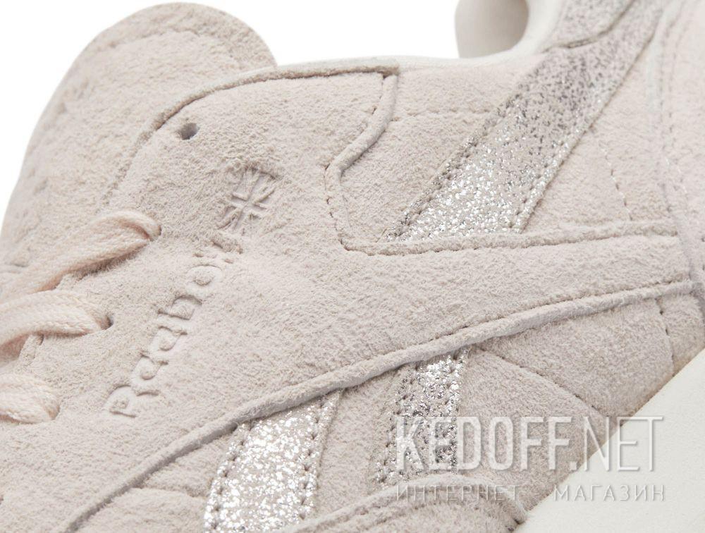 b327da339f7 Доставка Кросівки Reebok Classic Leather Shimmer Pale Pink Matte Silver  Chalk bs9865