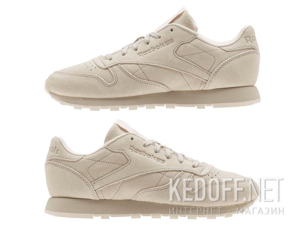 Кроссовки Reebok Classic Leather Tonal Nbk \ Sand Stone/Pale Pink BS9883 все размеры