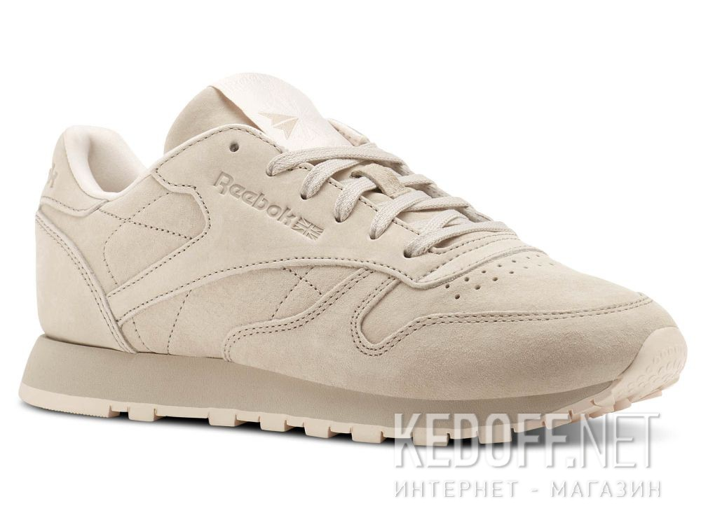 Купить Кроссовки Reebok Classic Leather Tonal Nbk \ Sand Stone/Pale Pink BS9883