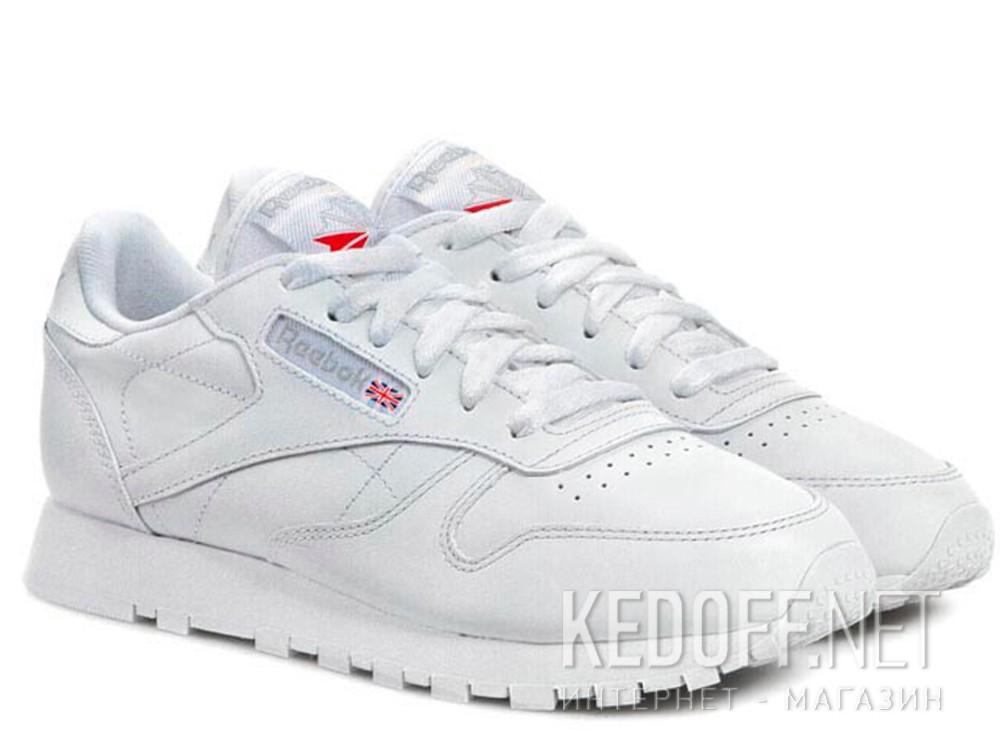 3dccf566e67043 Кросівки Reebok Classic Leather 2232 унісекс (білий) купити Україна