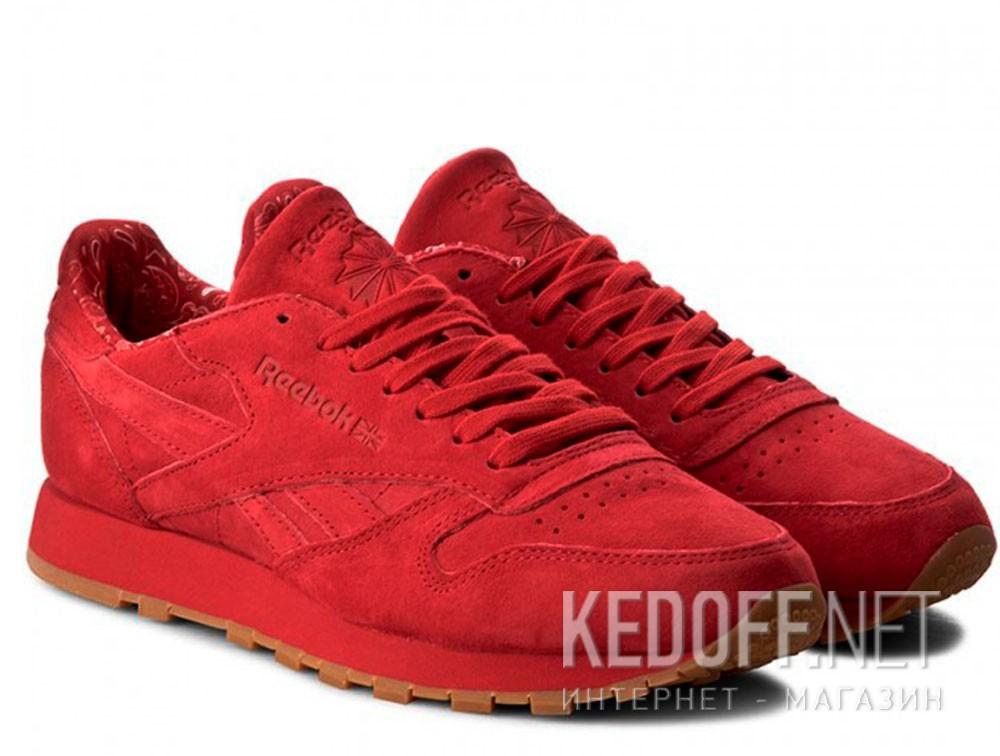 Мужские кроссовки Reebok Classic Leather Bd3231   (красный) купить Украина