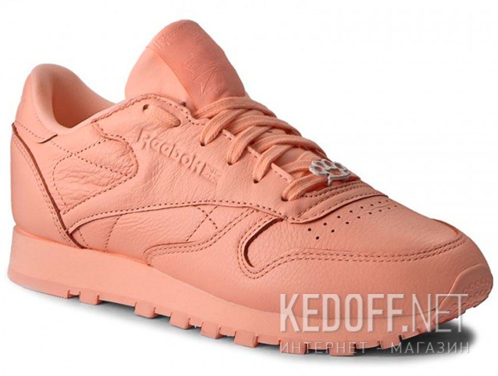 5f21c82e551a8b Жіночі кросівки Reebok Classic Leather BS7912 (Персиковий) в ...