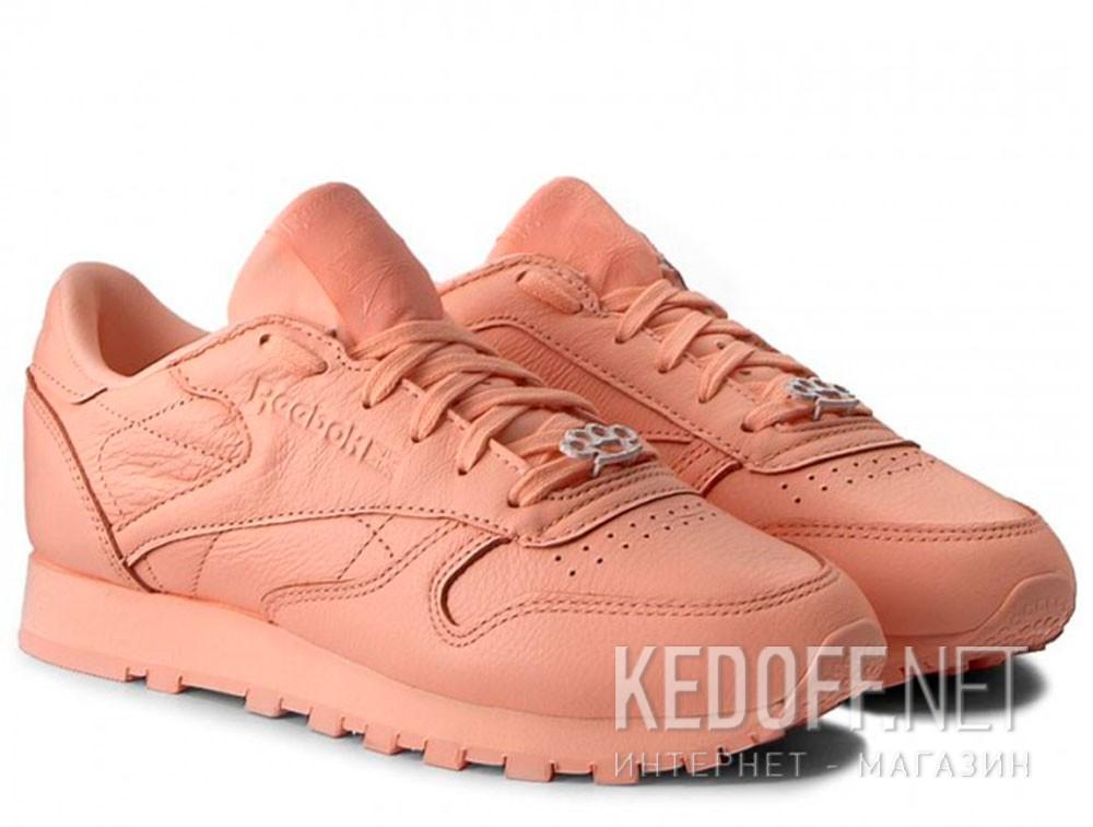 Женские кроссовки Reebok Classic Leather BS7912   (персиковый) купить Украина