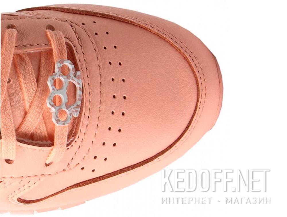 Женские кроссовки Reebok Classic Leather BS7912   (персиковый) купить Киев