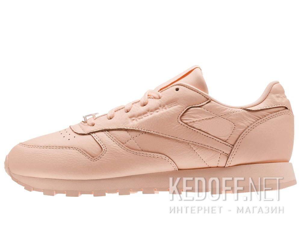 Женские кроссовки Reebok Classic Leather BS7912   (персиковый) все размеры