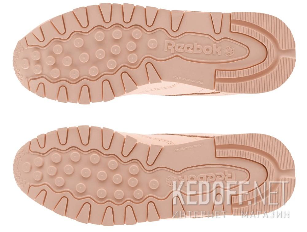 Доставка Женские кроссовки Reebok Classic Leather BS7912   (персиковый)