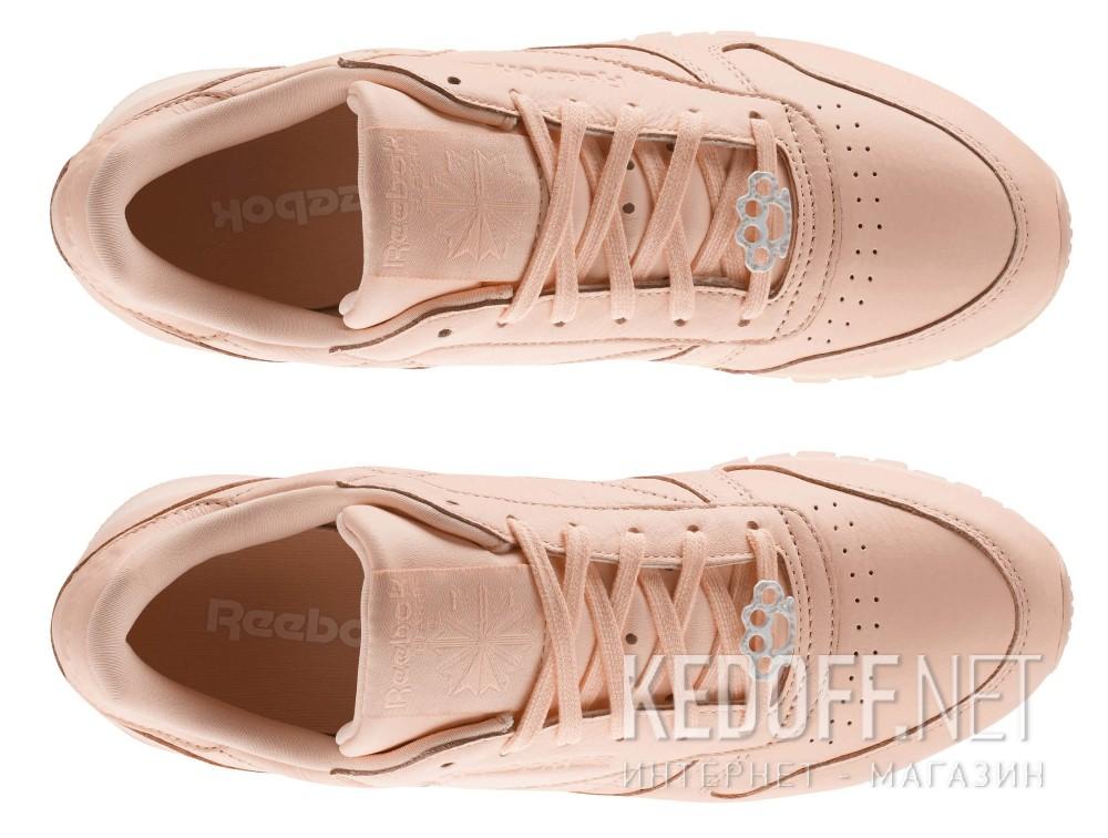 Женские кроссовки Reebok Classic Leather BS7912   (персиковый)