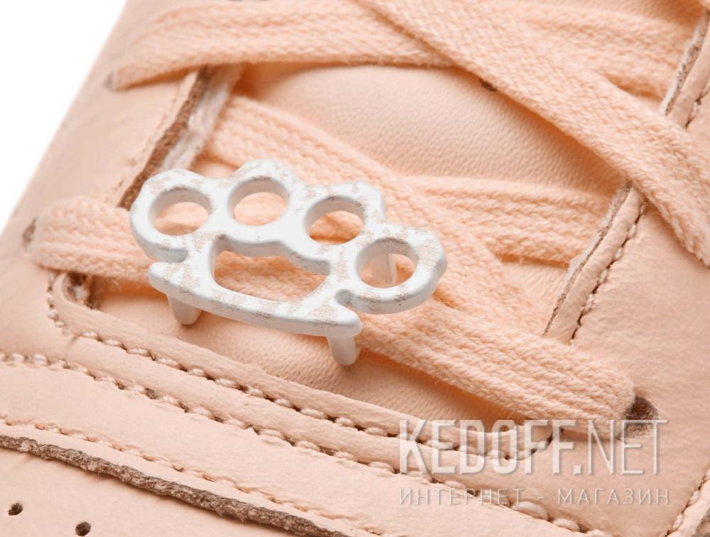 Женские кроссовки Reebok Classic Leather BS7912   (персиковый) Фото 12