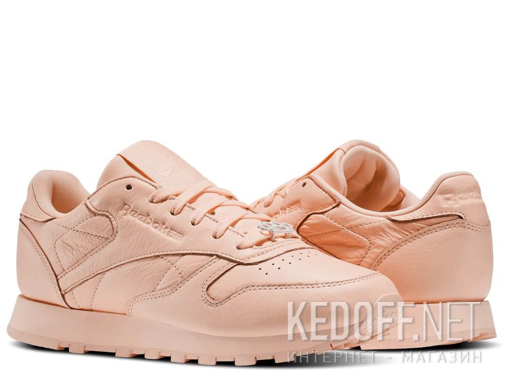 Женские кроссовки Reebok Classic Leather BS7912   (персиковый) описание
