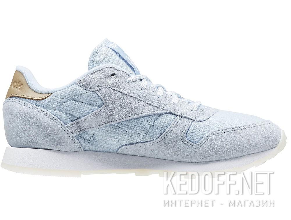 Женские кроссовки Reebok Classic Leather Sea-Worn Bd1510   (голубой) купить Украина