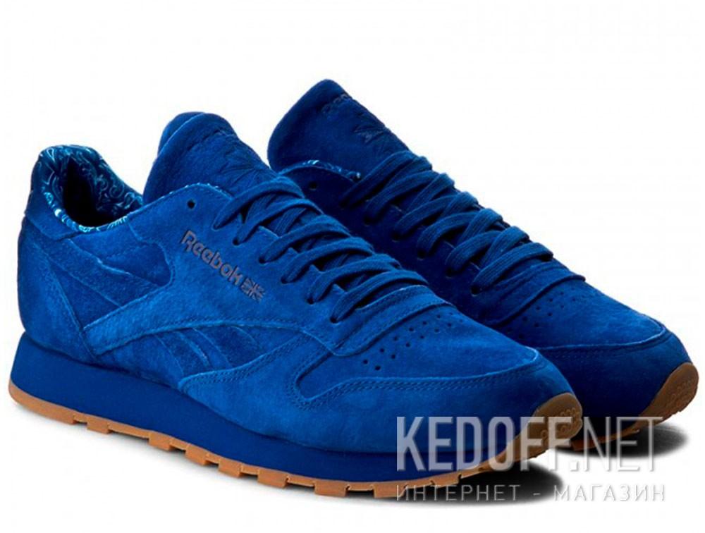 Мужские кроссовки Reebok Classic Leather Tdc Bd3233   (синий) купить Украина