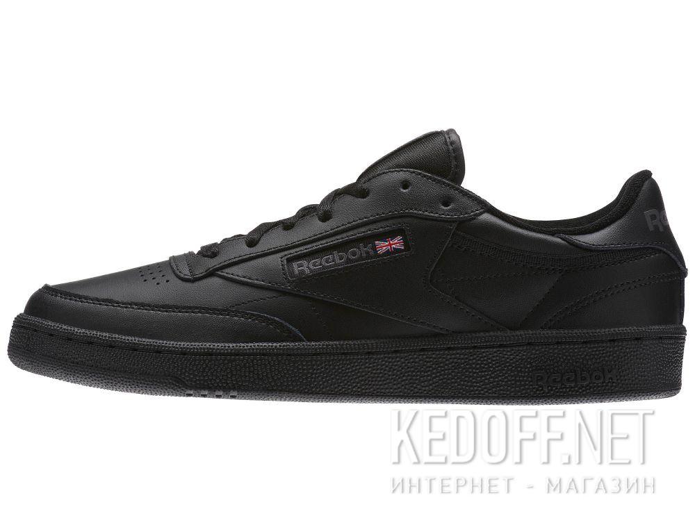 Оригинальные Мужские кроссовки Reebok Club C 85 AR0454 Black/Charcoal