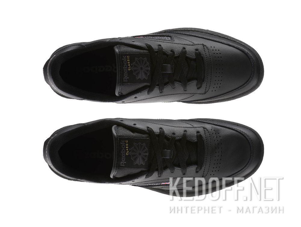Мужские кроссовки Reebok Club C 85 AR0454 Black/Charcoal  все размеры