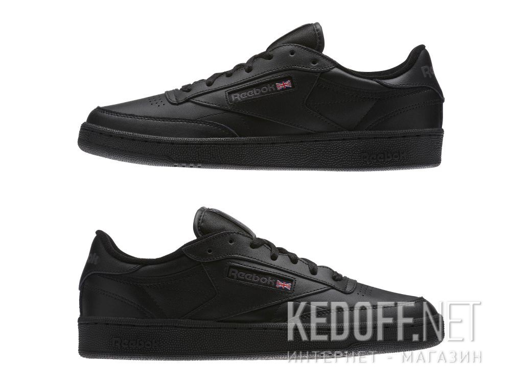 Delivery Men's shoes Reebok Club C 85 AR0454 Black/Charcoal