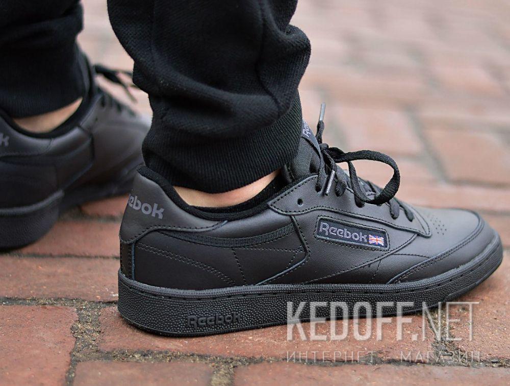 Мужские кроссовки Reebok Club C 85 AR0454 Black/Charcoal