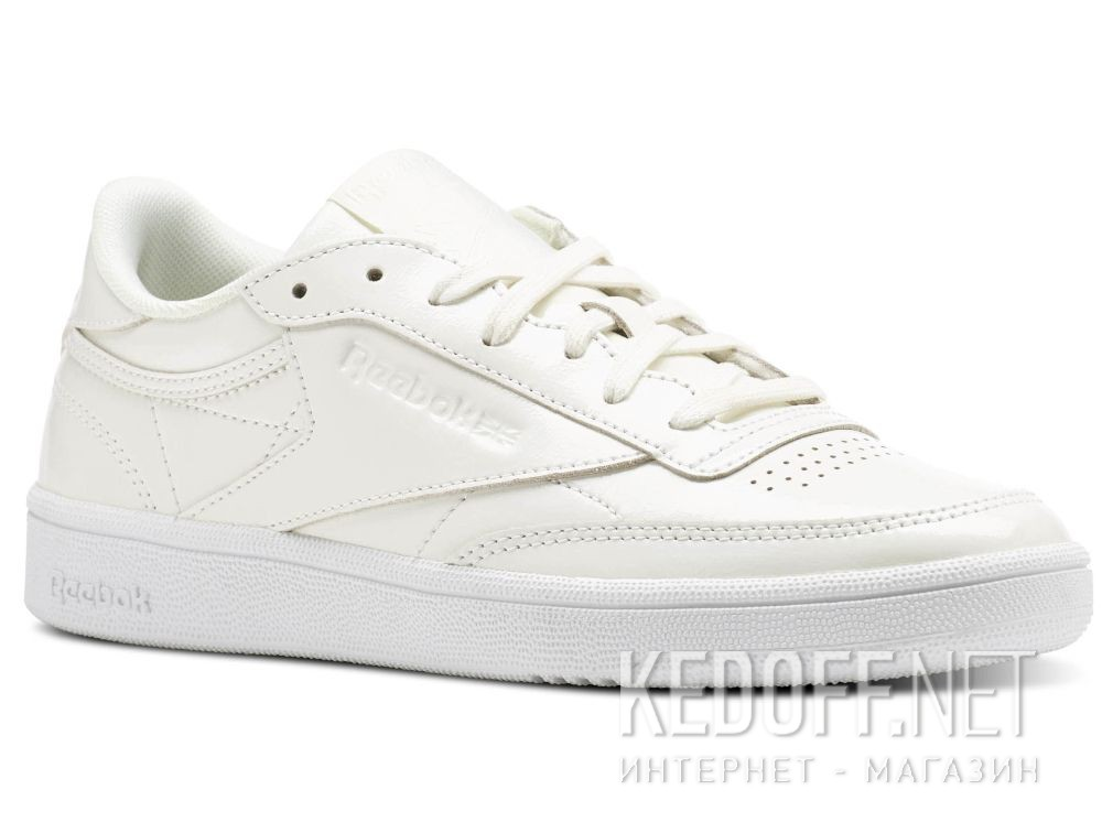 badd8a8cb Shop Shoes Reebok Club C 85 Patent \ White bs9776 at Kedoff.net - 26914