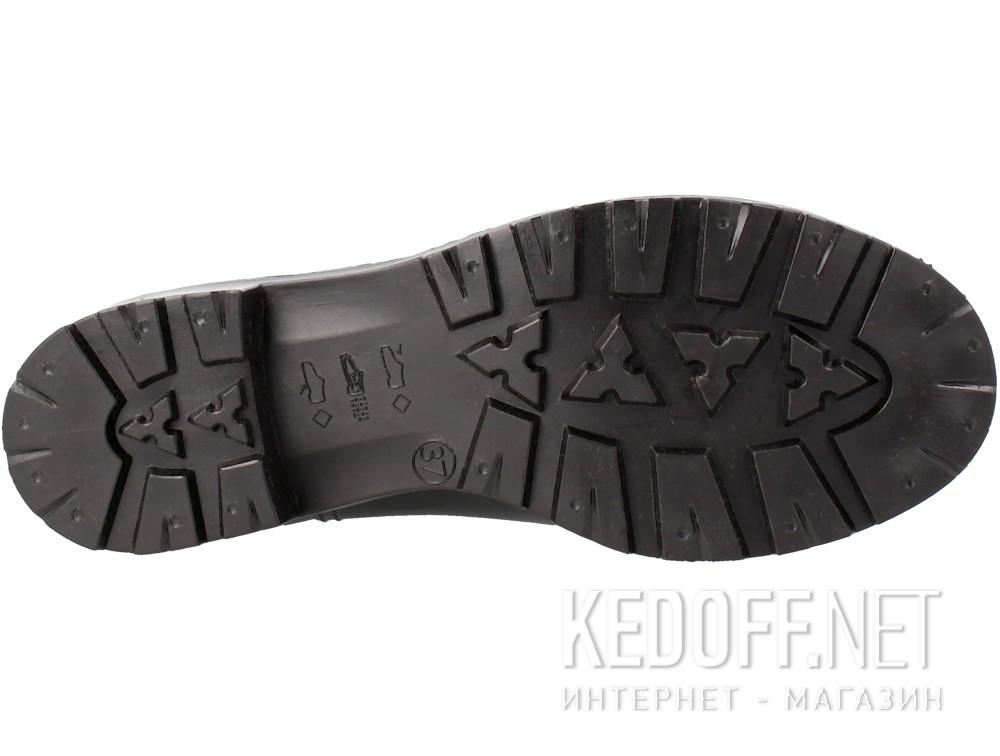 Оригинальные Резиновые сапоги Forester Rain 321-27 унисекс   (чёрный/синий)