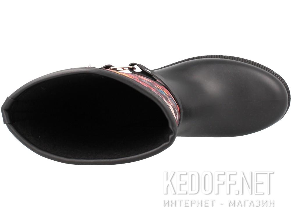 Женские резиновые сапоги Forester Rain 324-27   (чёрный) купить Киев